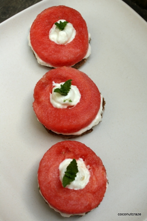 watermelon circles